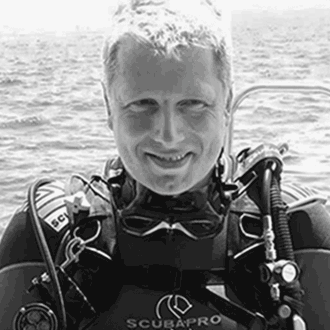 Tauchlehrer Patrick Middendorf PADI Open Water Scuba Instructor